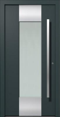 porte d'entrée aluminium Mex Internorm