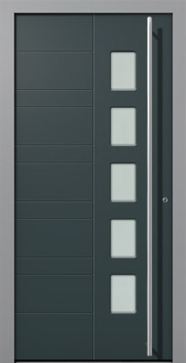 Mex Internorm porte d'entrée aluminium finistere